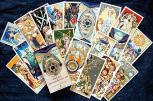 Tarot by Alexander Daniloff 2012 II edizione cards web