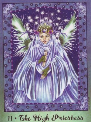 high-priestess-faerie-tarot